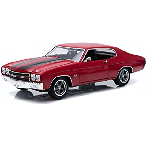 1970 Chevrolet Chevelle SS [Greenlight 12945], Fast and Furious IV, Rojo, 1:18 Die Cast