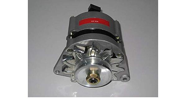 Generator Alternator 14 Volt 33 35 Amp With Pulley Auto