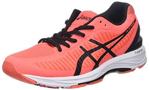 ASICS Women's Gel-ds Trainer 23 Training Shoes, Pink (Flash Coral/Black/Coralicious 0690), 41.5 EU (7.5 UK)