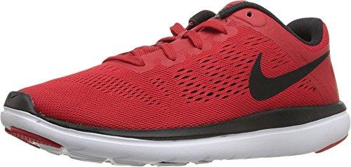 Nike Flex 2016 RN GS Laufschuhe Aktuelle Kollektion rot/schwarz/weiß, Farbe:rot;Schuhgröße:EUR 37.5