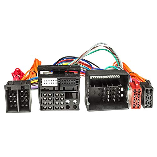 tomzz Audio 7339–003ISO DI DERIVAZIONE cavo cavo adattatore (T) (40) per Opel AB 2004per vivavoce con connettore ISO (ad esempio Parrot THB, Funkwerk Dabendorf)