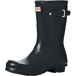 Hunter Wellington Boots, Botas de Agua para Mujer, Gris (Grey/dsl), 40/41 EU