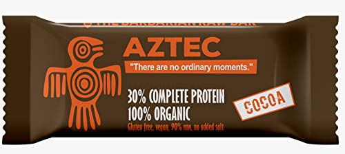 Kalorien Food Bar (The Barbarian Raw Bar - Aztec Organic Protein Riegel Kakao (12 x 50 g))