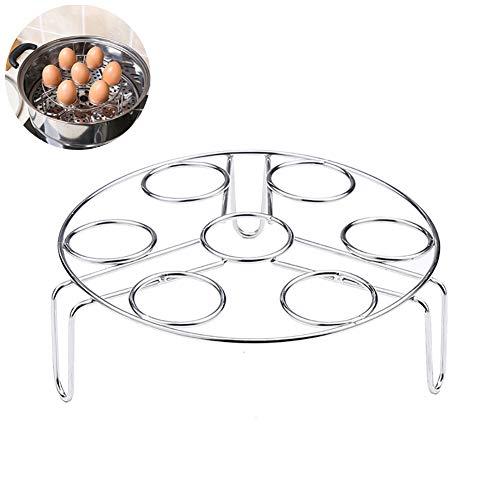 1PC Edelstahl-Ei-Dampfer Rack-Ei-Kocher für Instant-Pot Zubehör Dampfzahnrad Für Pressure Cooker Zubehör