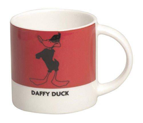 excelsa-looney-tunes-tazza-caffe-daffy-duck-100-ml-porcellana-rosso-59x59x59-cm