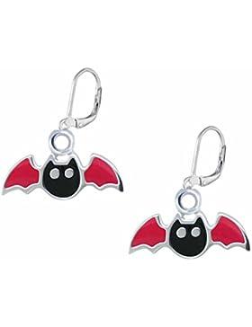 SL-Silver Ohrringe Kinderohrringe Ohrringe kleine Fledermaus 925 Silber