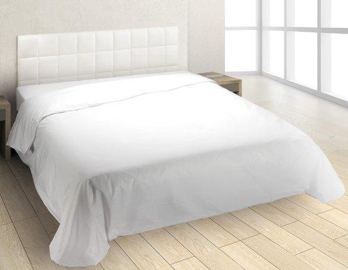 Burrito Blanco - Funda nórdica suelta Puzzle 00 blanco para cama de...