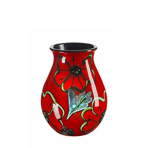 Poole Pottery Poppy Field Venetian Vase 16cm