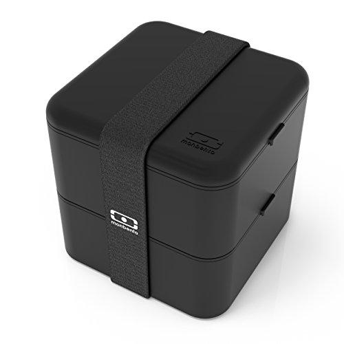 Hot-box-fan (Monbento 1200 03 002 Square Bento Box, Kunststoff, schwarz)
