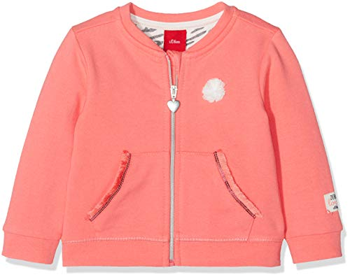 s.Oliver Baby-Mädchen 65.901.43 1/338 Sweatjacke, Rosa (Pink 3302), 80