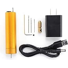 Rishil World Mini Electric Drill DIY Polishing Drilling Grinding Cutting Tools