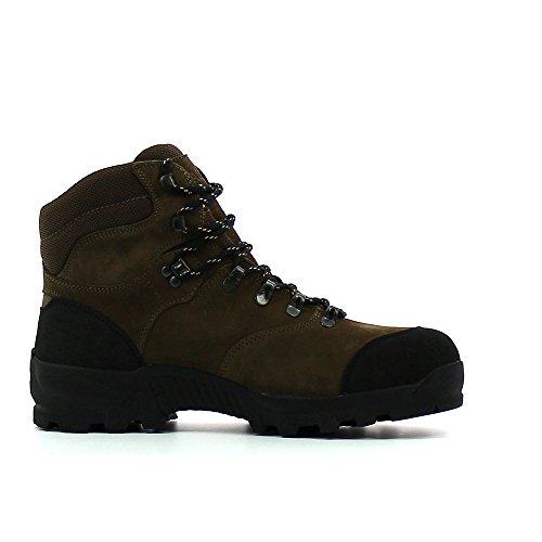 e9325e74942d24 Chaussures de chasse Aigle Altavio Mid GTX Marron Vue Prise Explorer ...