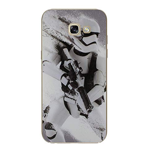 I-CHOOSE LIMITED Star Wars Telefon Hülle/Case für Samsung Galaxy A5 2017 / Silikon Weiches Gel/TPU / Stormtrooper Splatter