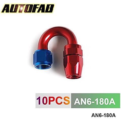 sypure (TM) autofab, Adattatore per tubo di raffreddamento olio AN6–180a