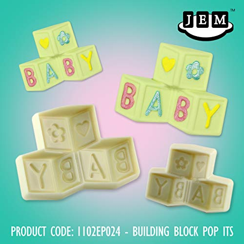 PME JEM Pop It Baby Building Blocks Molde Cake Decoration New Born Baby Shower
