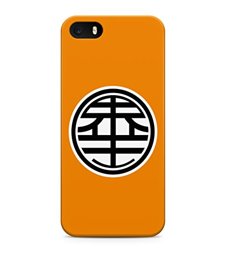 Dragon Ball Z King Kai Symbol Hard Plastic Snap On Back Case Cover For iPhone 5 / 5s Custodia