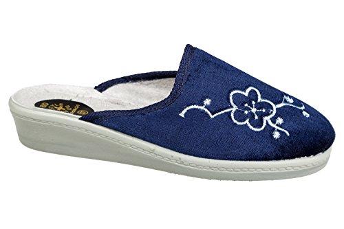 gibra , Chaussons pour fille Bleu - Bleu foncé