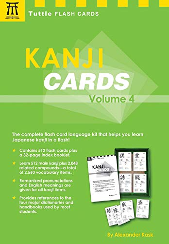Kanji Cards Kit: Learn 537 Japanese Characters Including Pronunciation, Sample Sentences & Related Compound Words (Tuttle Flash Cards, Band 4)