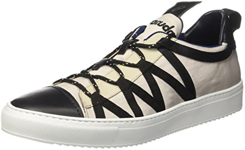 Barracuda BU2952  Herren Niedrige Sneaker  Grigio (Perla)  42 EU