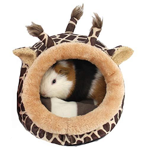 Quemu Co.,Ltd. House Cage Toys House Supplies Bett-Schlaf-Accessoires, bequem, weiches Plüsch für Chinchilla/Igel/Meerschweinchen/Hamster