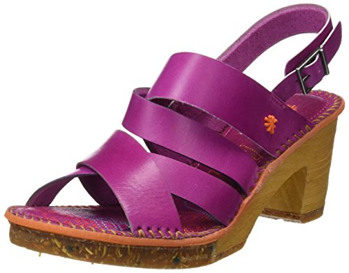 Art 1055 Mojave Amsterdam, Sandales Bout Ouvert Femme Rose (Magenta)