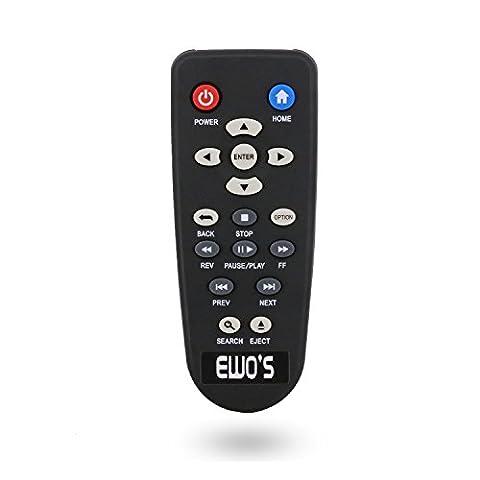 Ewo pour lecteur multimédia à distance pour Western Digital WD TV en direct, 1Live Hub, TV, Meuble multimédia