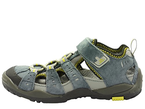 Vado, 12501-14 Till, dk.slate (blu-grigio-giallo), in tessuto, smontabile, Blu Grigio (Dk. Slate (grau))