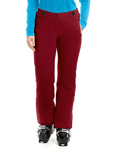 Maier Sports Damen Veronica Skihose, Red Dahlia, 40