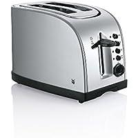 WMF Toaster Stelio, mit Bagelfunktion, 900 Watt, Edelstahl matt