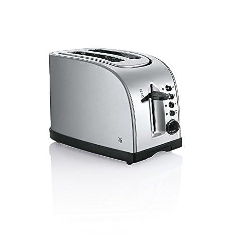 WMF STELIO Toaster, matt/silber