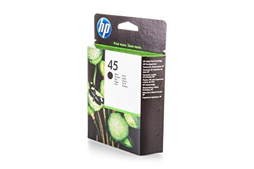 Preisvergleich Produktbild Original Tinte passend für HP DeskJet 710 C HP 45 , 45BK , 45BLACK , NO45 , NO45BK , NO45BLACK 51645AE , 51645AEABB , 51645AEABD , 51645AEABF - Premium Drucker-Patrone - Schwarz - 930 Seiten - 42 ml