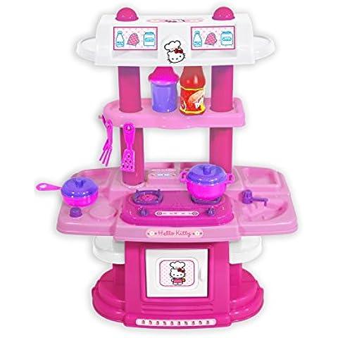 Hello Kitty - Cocina de doble cara (Saica Toys 9375)