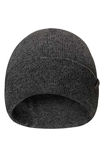 Mountain Warehouse Compass Mens Beanie Hat - Small, Lightweight Cool Hat, Durable & Practical Mens Cap - Perfect for Travelling & Daily Use
