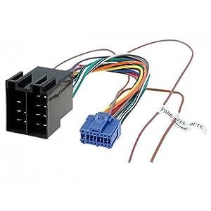 cable adaptateur faisceau iso pour autoradio pioneer high tech. Black Bedroom Furniture Sets. Home Design Ideas