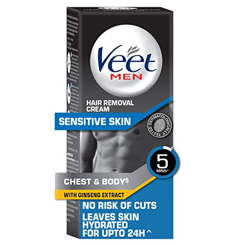 Buy Veet Hair Removal Cream for Men, Sensitive Skin – 50g online in India at discounted price