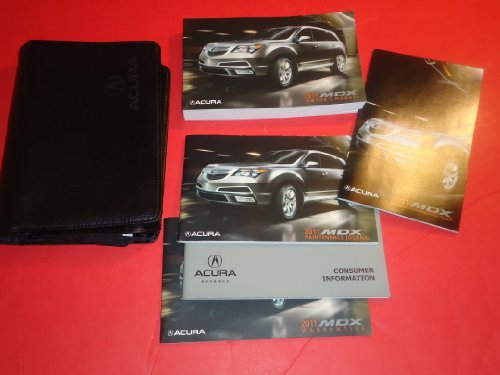 2011-acura-mdx-owners-manual-book-case