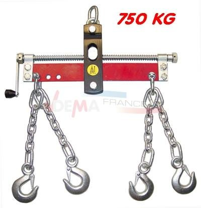 Balancier pour grue atelier/garage - de levage - 750 kg