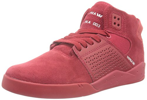 Supra Herren Skytop III High-Top, Rot RED 605, 44 EU