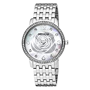 ORPHELIA Womens Analogue Classic Quartz Connected Wrist Watch with Stainless Steel Strap OR12703