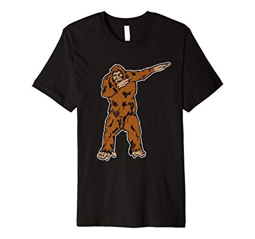 06a3856a3 Funny DABBING BIGFOOT T-shirt - DAB SASQUATCH shirt