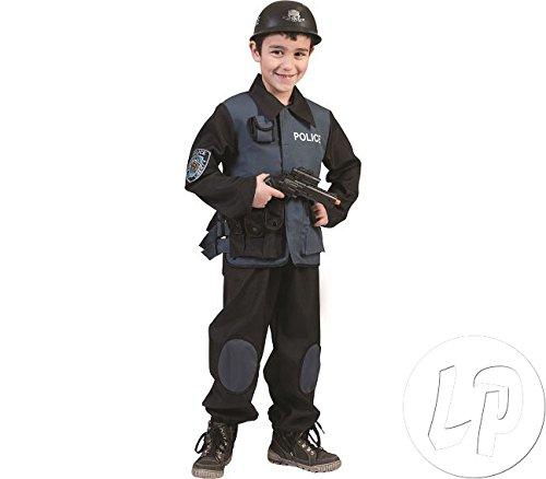 Police Special Force Kostüm Gr. 164 (Kostüm Special Kind Forces)