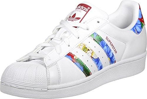 adidas-superstar-w-scarpe-da-ginnastica-basse-donna-bianco-ftwwht-ftwwht-powred-40-eu