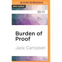 BURDEN OF PROOF              M (Jag in Space, Band 2)