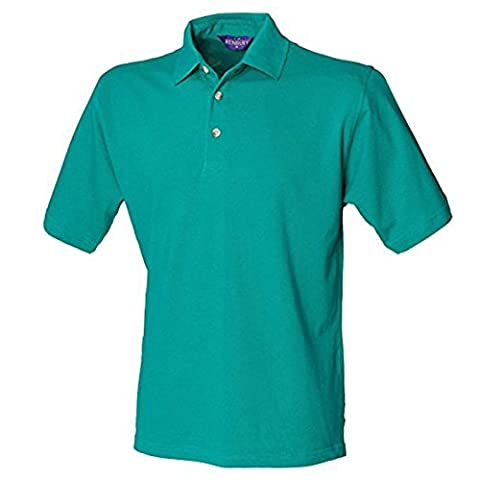 Henbury Classic Cotton Pique Polo Stand-up Collar Men's T Shirt