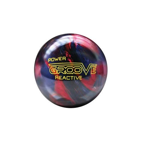 Brunswick Power Groove ilusiona Kugel Bowling, Unisex Erwachsene, Unisex - Erwachsene, Power Groove Ilusiona, Granatrot/blau