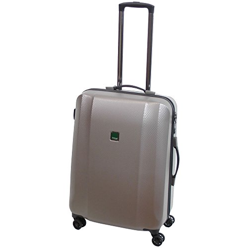 "TITAN Valise trolley ""Xenon Deluxe"" avec 4 roues champagne Koffer, 67 cm, 80 liters, Beige (Champagne)"