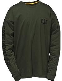 Caterpillar Mens C1510034 Trademark Premium Weight Cotton T-Shirt