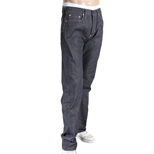 Herren Denim Bestickt (RMC Jeans Herren Bestickt Jockey Japanische Webkante Denim Jeans rmc3747 Gr. W32, Multi)