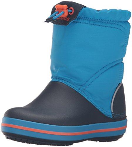 Crocs Crocband LodgePoint Boot, Bottes Souples mixte enfant Bleu (Ocean/Navy)
