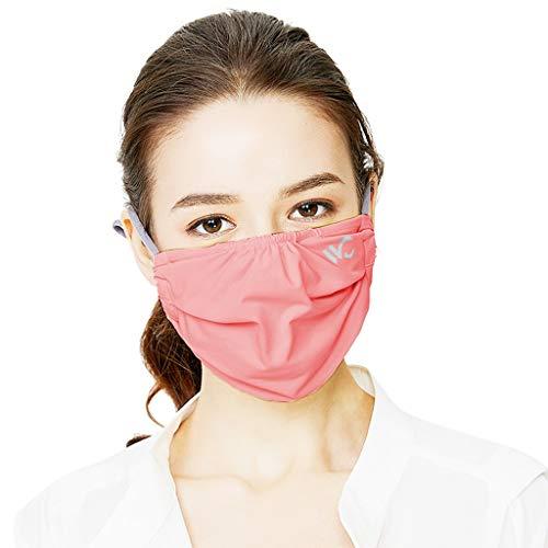 BZLine Home PM2.5 Gesichtsmundmaske Schutzmaske - 3 Stück Mundschutz Masken Staubmasken Atemschutz Atmungsaktive Atemschutzmasken - Premium Staubmaske Atemmaske Staubmaske Luftreinigung Maske (Rot)